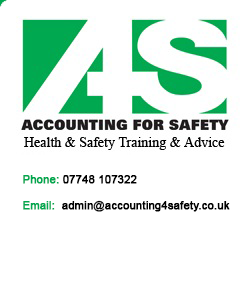 accounting for safety - tel: 01229 840243